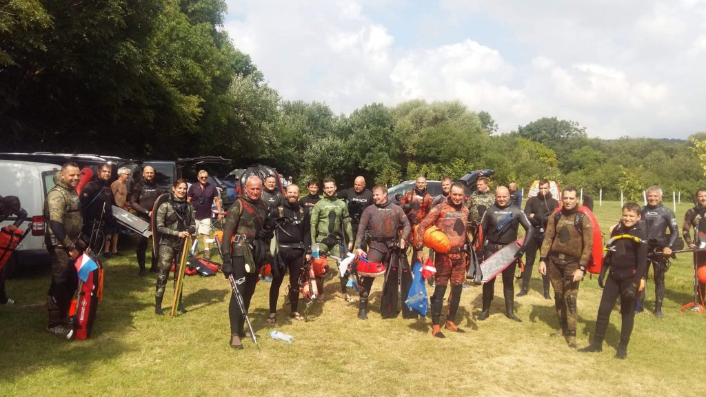 BSA Try Dive Ringstead July 2019 attendies