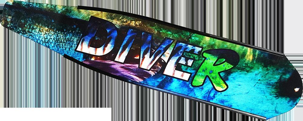 DiveR Pelagica Carbon fins blades